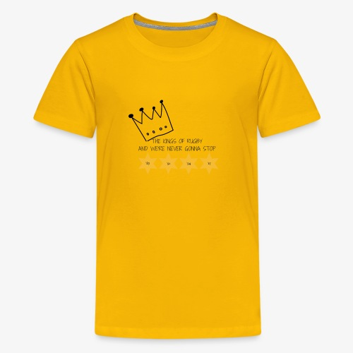 The Kings of Rugby (Kids) - Teenage Premium T-Shirt