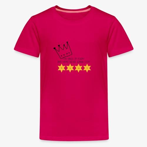 The Kings of Rugby (Kids) - Teenage Premium T-Shirt