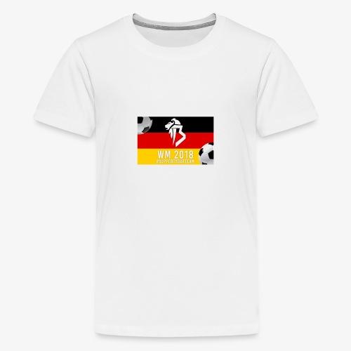 BaNg Logo + Bälle - Teenager Premium T-Shirt