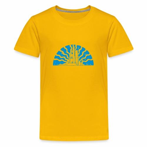 Fairytale Castle Sunrise - Teenager Premium T-Shirt