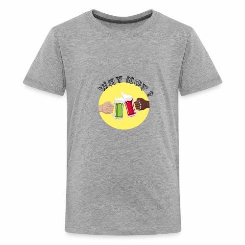 WHY NOT ? (WN) - T-shirt Premium Ado