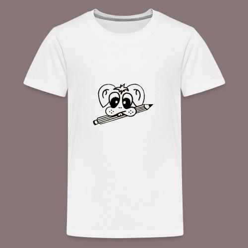 mister rabbitissimo school - Teenager Premium T-Shirt