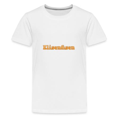 Elisenfisen mussemåtte - Teenage Premium T-Shirt