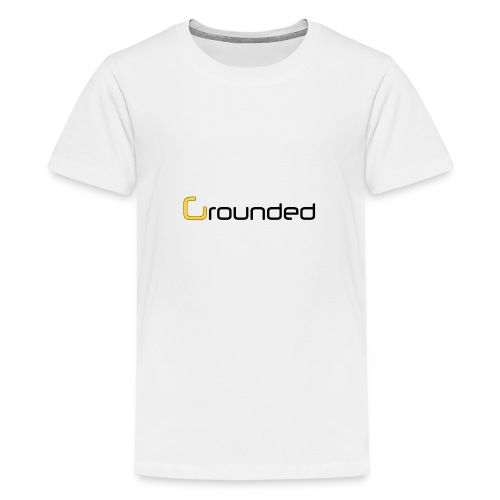 grounded 850 png - Teenager Premium T-Shirt