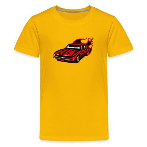 auto fahrzeug rennwagen - Teenager Premium T-Shirt