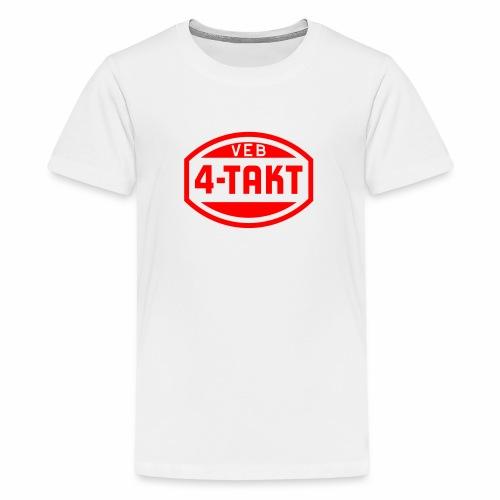 VEB 4-Takt Logo (1c) - Teenage Premium T-Shirt