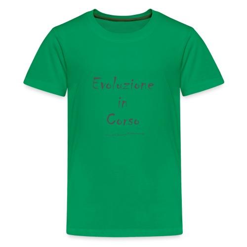 Evoluzione in corso - Maglietta Premium per ragazzi