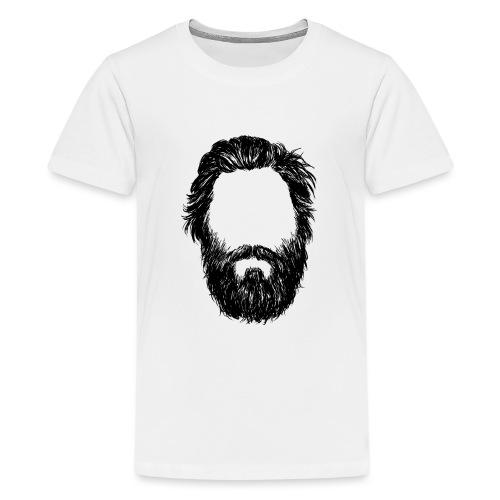 Head 2 HD png - Teenager Premium T-Shirt