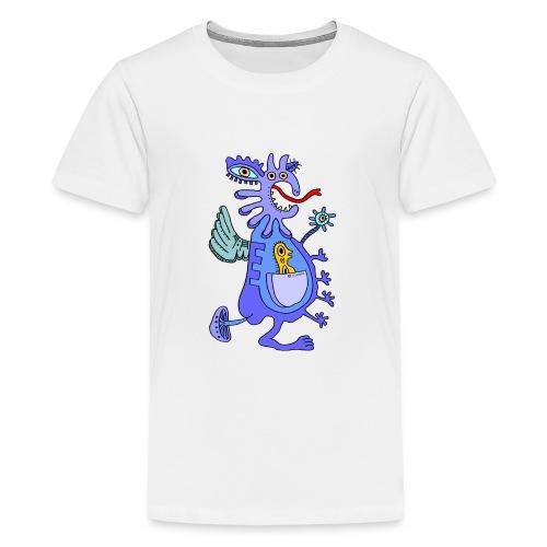 Blue Dragon - Maglietta Premium per ragazzi