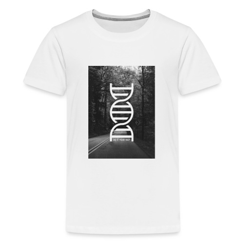 Fotoprint DNA Straße - Teenager Premium T-Shirt
