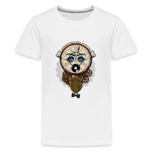 Remember the Futur 'pour couleur Foncée' - T-shirt Premium Ado