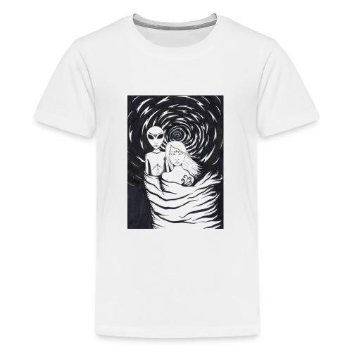 Abducted - Premium T-skjorte for tenåringer