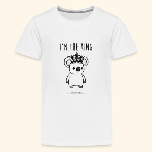 Koala king - T-shirt Premium Ado