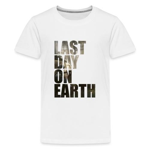 Último día en la tierra - Camiseta premium adolescente