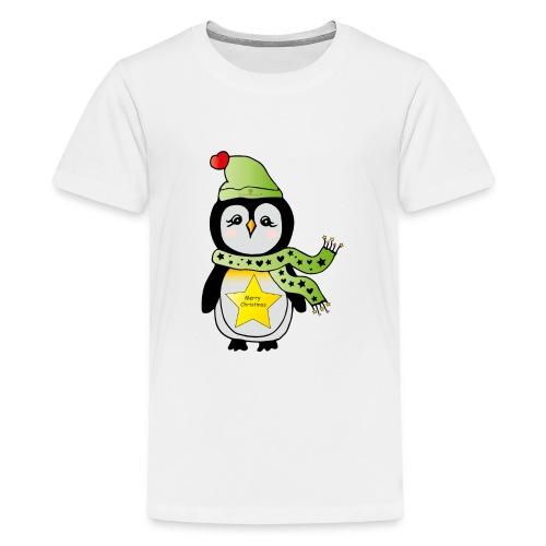 Christmas Pinguin - Teenager Premium T-Shirt