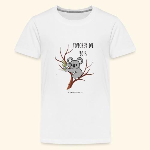 koala sur son arbre - T-shirt Premium Ado