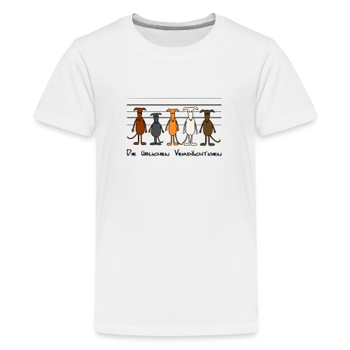 Die üblichen Verdächtigen - Teenager Premium T-Shirt