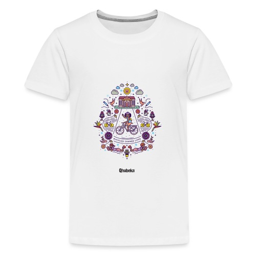 Illustration Shirt Colour - Teenage Premium T-Shirt