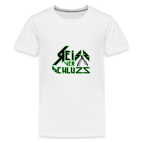 Reissverschluzz Logo - Teenager Premium T-Shirt