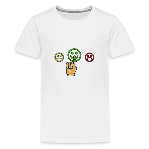 optimismo - Camiseta premium adolescente