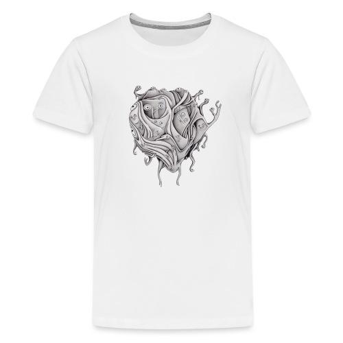 Floating creature 1 shirt - Teenage Premium T-Shirt