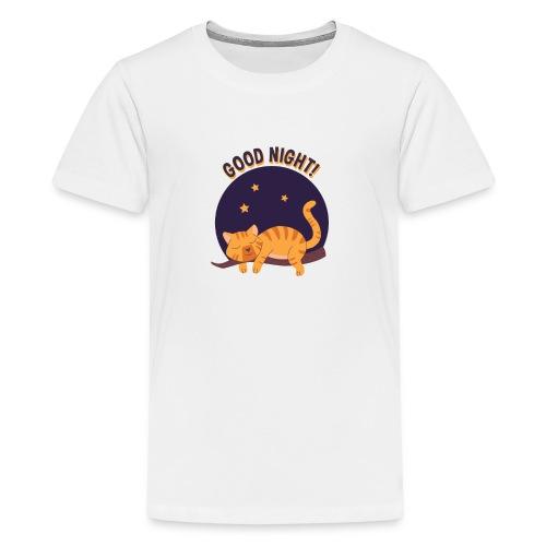 good night - T-shirt Premium Ado