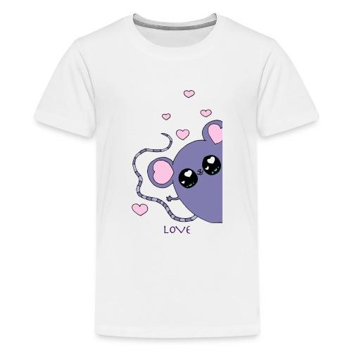 Minimi la souris - T-shirt Premium Ado