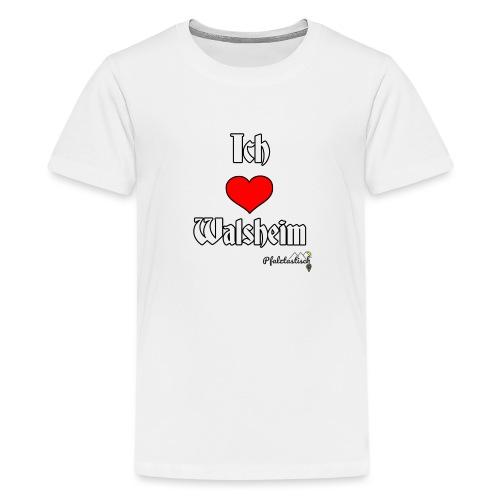 Ich herz Walsheim - Teenager Premium T-Shirt