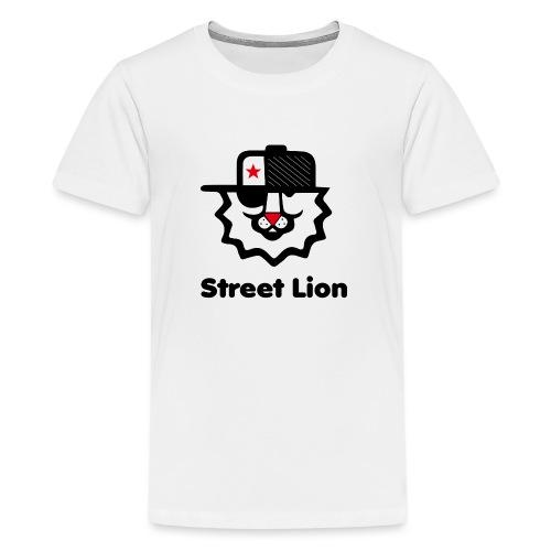 Street lion - T-shirt Premium Ado