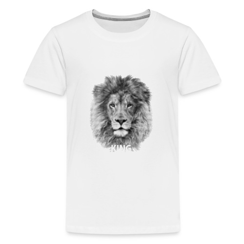 Lionking - Teenage Premium T-Shirt