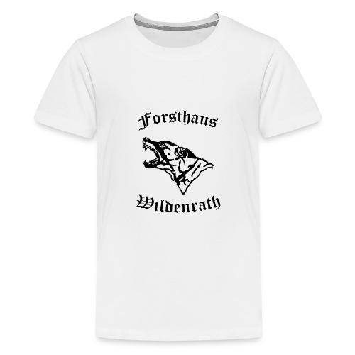 Logoneudunkel - Teenager Premium T-Shirt