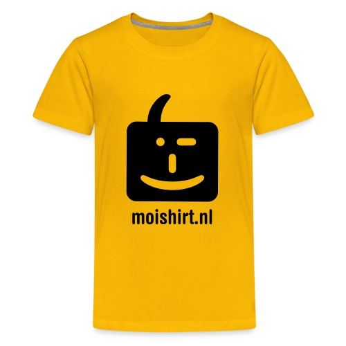 moi shirt back - Teenager Premium T-shirt