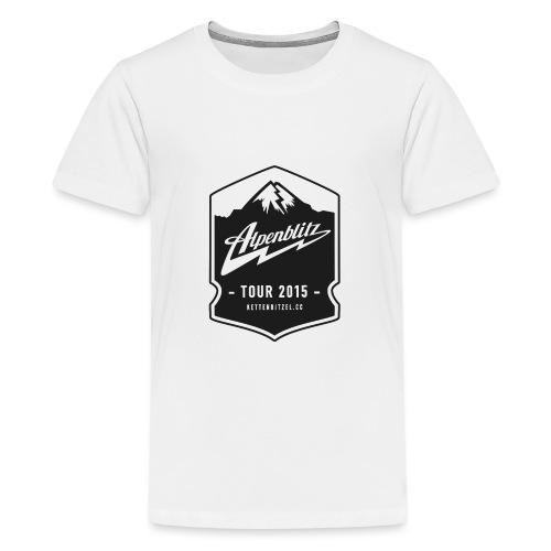 Alpenblitz Logo 2 - Teenager Premium T-Shirt