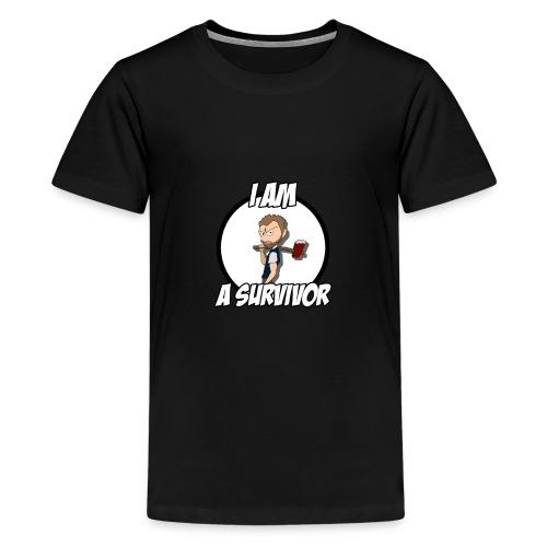 Game Survivant - T-shirt Premium Ado