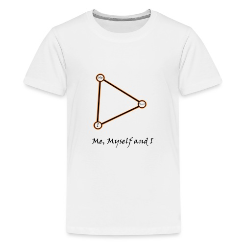 Me, Myself and I naranja - Camiseta premium adolescente