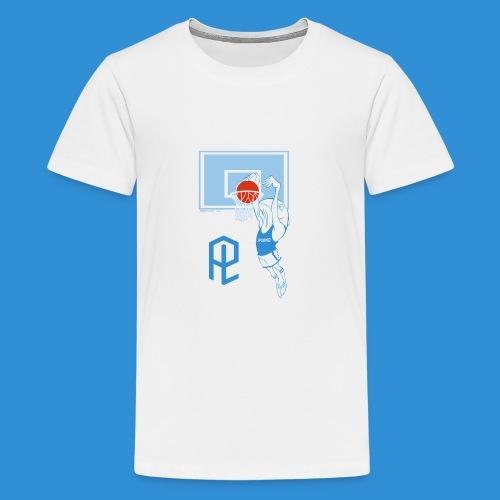 Logo Pielle - Maglietta Premium per ragazzi