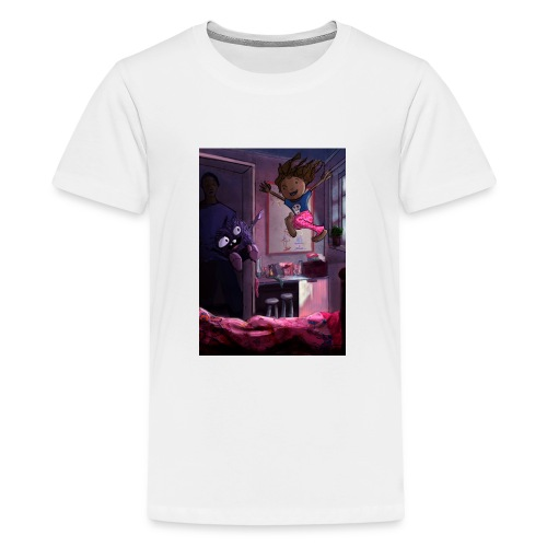 The Cookie Thief - Teenage Premium T-Shirt