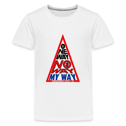No way - Maglietta Premium per ragazzi