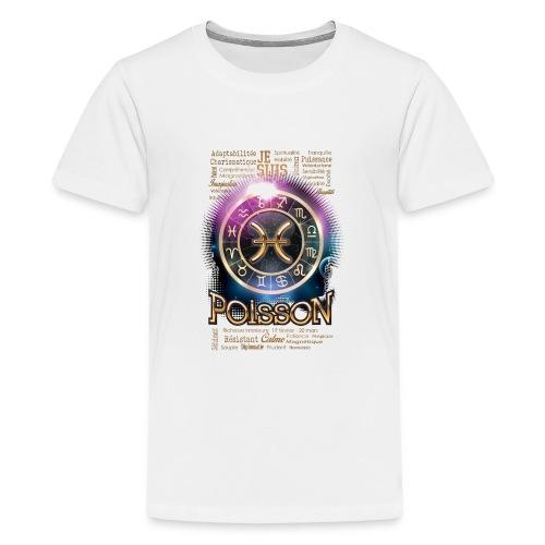 POISSONS - T-shirt Premium Ado