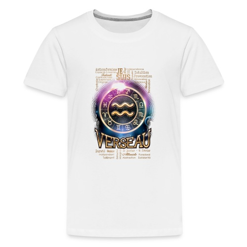 VERSEAU - T-shirt Premium Ado