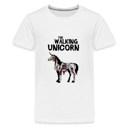 thewalkingUnicorn - Teenager Premium T-Shirt