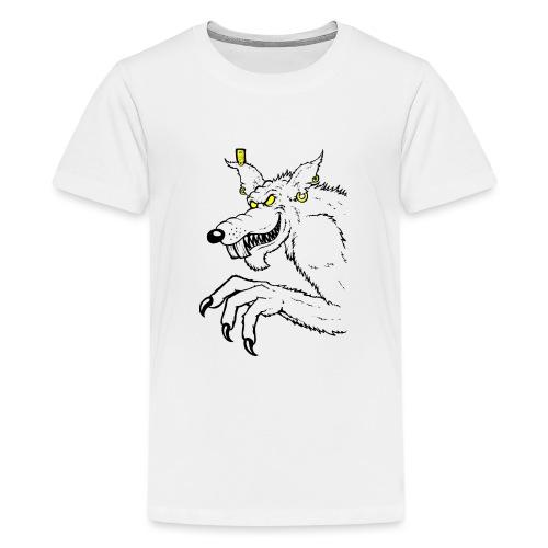 Monster Ratte - Teenager Premium T-Shirt