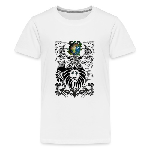 Mother EARTH NatureContest by T-shirt chic et choc - T-shirt Premium Ado