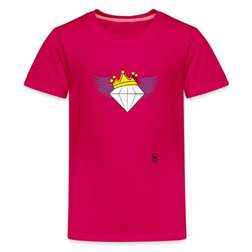 King Diamond Wings - Teenage Premium T-Shirt