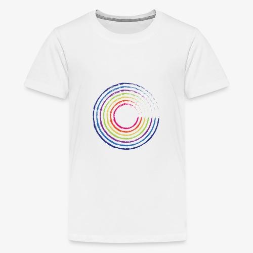Circle rainbow - Maglietta Premium per ragazzi