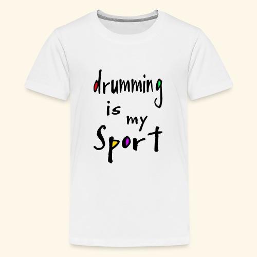drumming - Teenager Premium T-Shirt