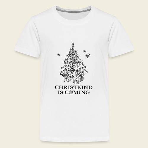 Christkind kommt - Teenager Premium T-Shirt