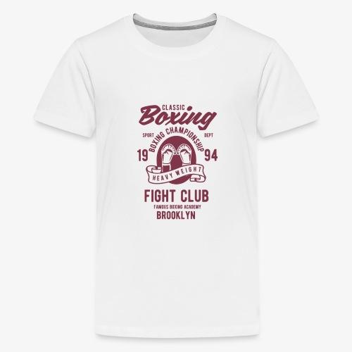 Classic Boxing - T-shirt Premium Ado