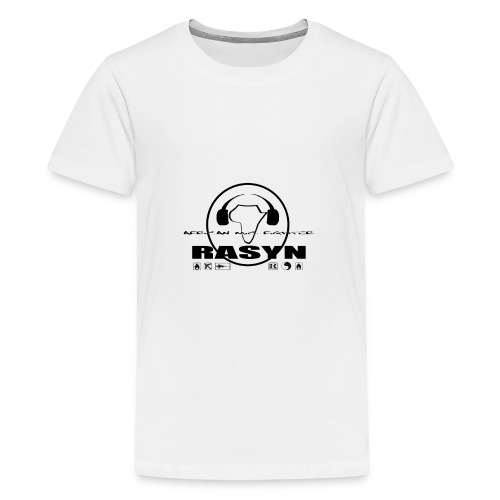 RASYN Peace Africa ® - Teenager Premium T-Shirt