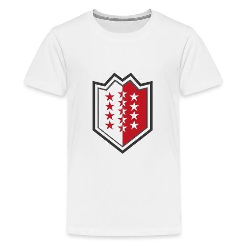 Bouclier moderne du Valais - Teenager Premium T-Shirt